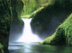 beautiful-garden-waterfall