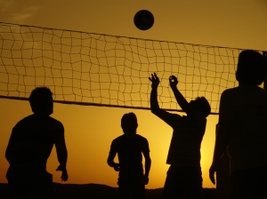 Sports-Volleyball-Sunset-HD-Wallpapers